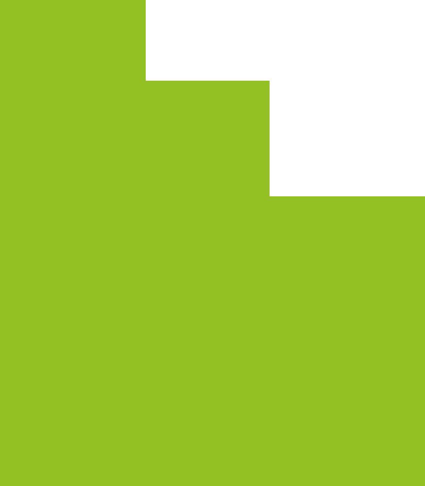Grüne Tropfenform